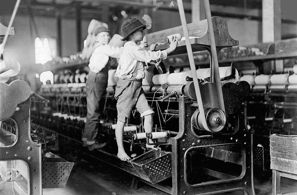 Παιδική εργασία κατά τη Βιομηχανική Επανάσταση